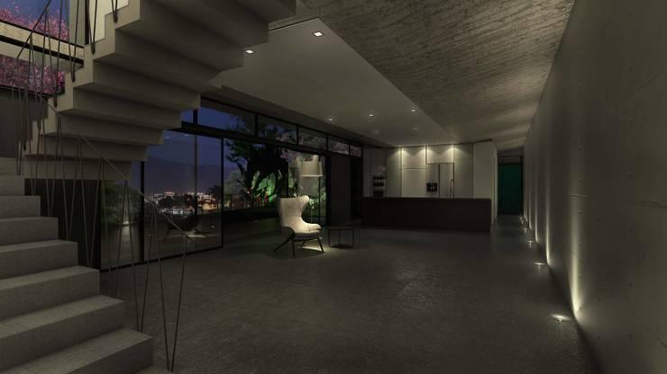 CASA B: Casas de estilo moderno por MAT Latinamerica
