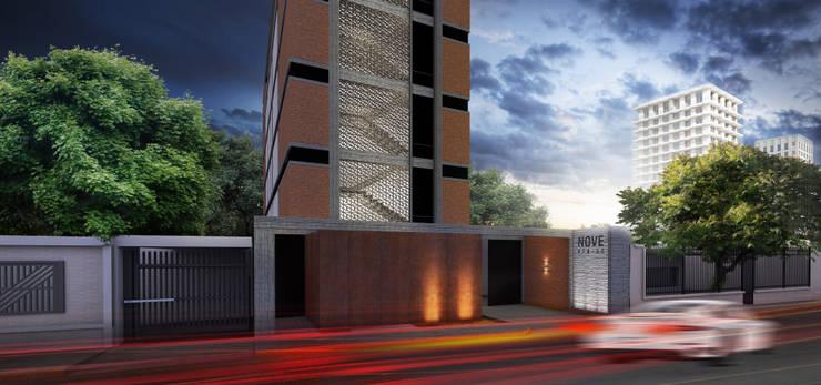 NOVE: Casas de estilo moderno por MAT Latinamerica