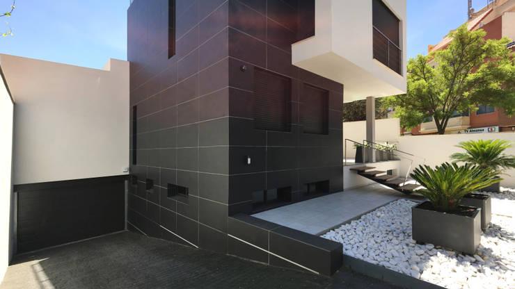 Casas modernas por arqubo arquitectos