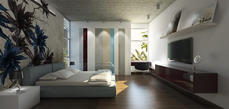 Bedroom by MAT Latinamerica