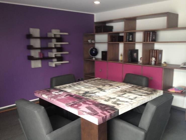 MESA DE TAREAS: Estudios y oficinas de estilo  por ENSAMBLE STUDIO