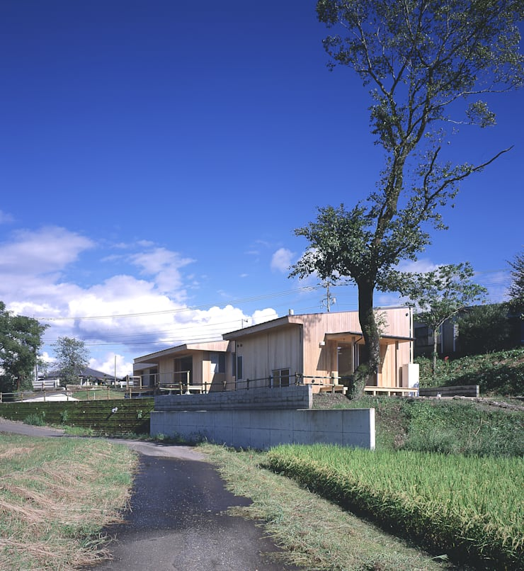 Nhà theo ㈱ライフ建築設計事務所, Hiện đại