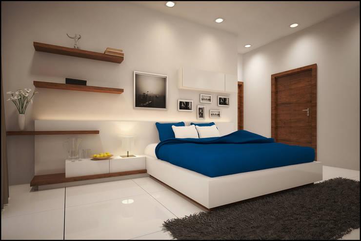 Kids Bedroom:  Bedroom by Pixel Works