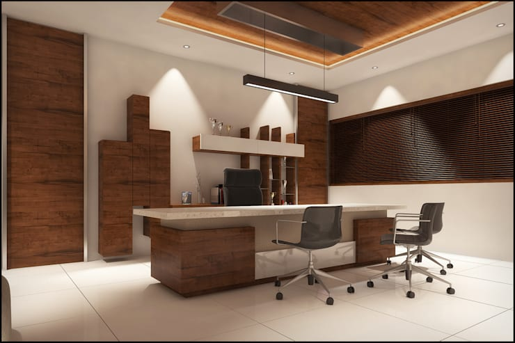 Office :  Study/office by Pixel Works