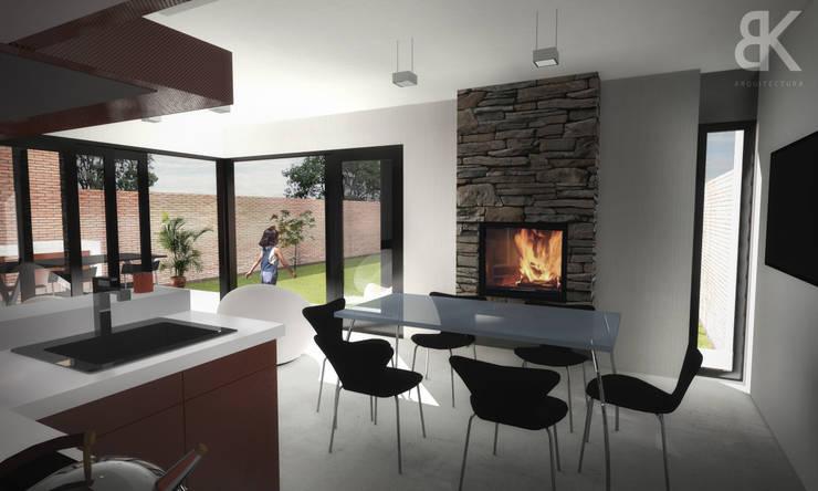 Cocina - Comedor: Comedores de estilo  por EKOPP obras & arquitectura,