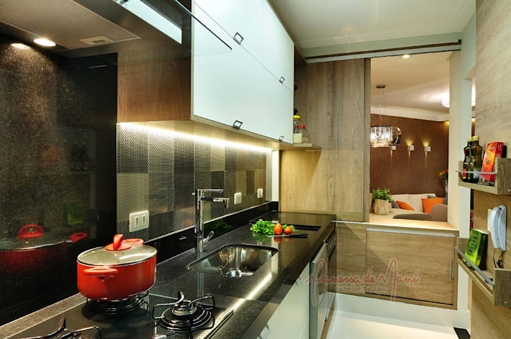 modern Kitchen by Vanessa De Mani
