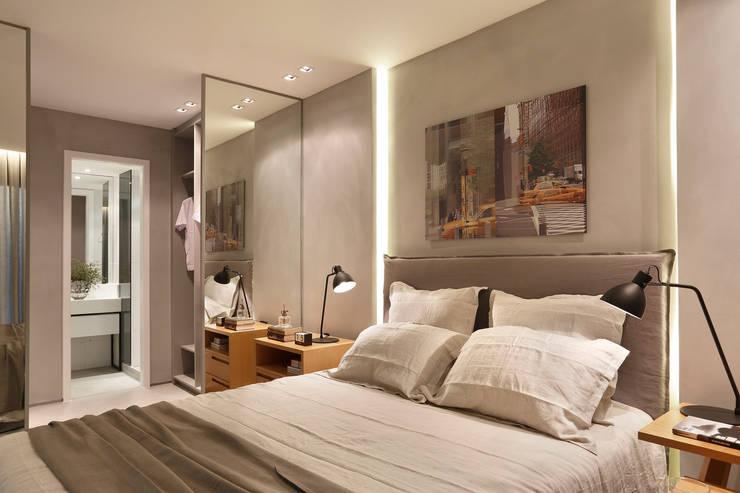 臥室 by Gisele Taranto Arquitetura