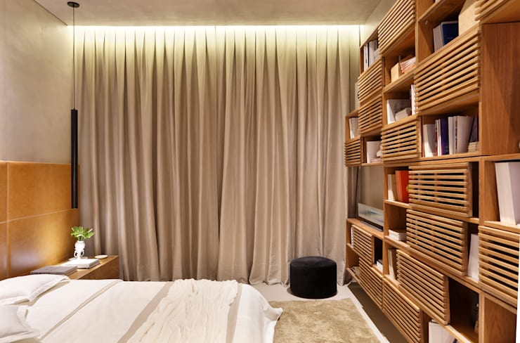 Bedroom by Gisele Taranto Arquitetura