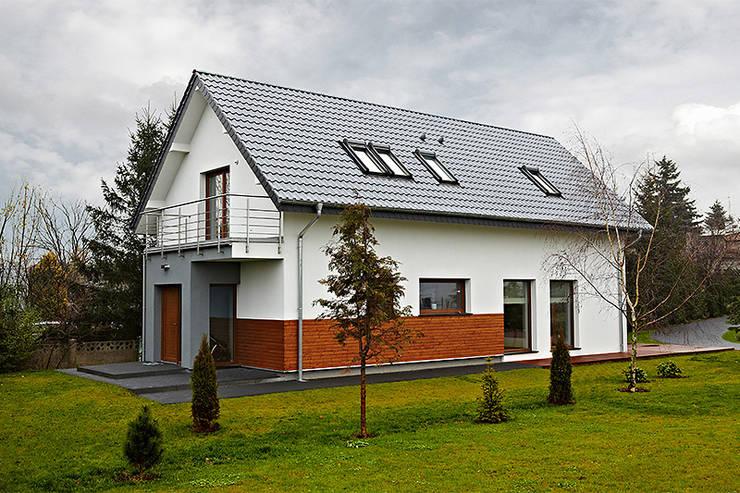 房子 by Biuro Projektów MTM Styl - domywstylu.pl