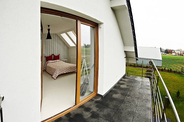 Chambre de style  par Biuro Projektów MTM Styl - domywstylu.pl