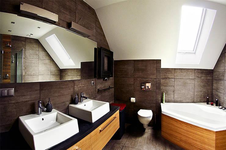 浴室 by Biuro Projektów MTM Styl - domywstylu.pl