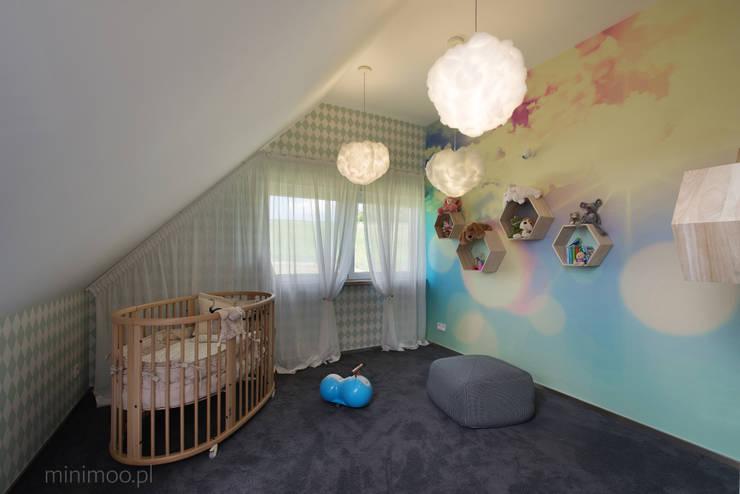 www.minimoo.pl: styl , w kategorii Pokój dziecięcy zaprojektowany przez MINIMOO Architektura Wnętrz