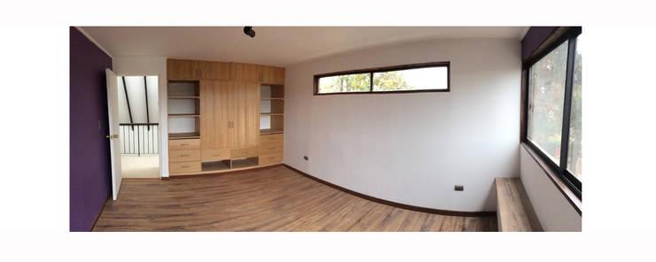 Casa Neff: Dormitorios de estilo moderno por Herman Araya Arquitecto y constructor