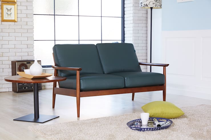 Robin L 2.0 Sofa: MöBEL-CARPENTER (모벨카펜터)의  거실