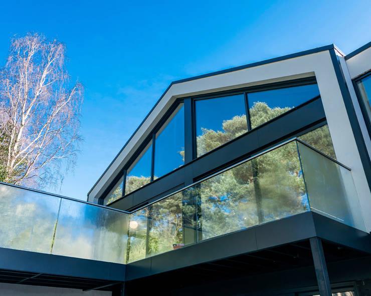 Houses by David James Architects & Partners Ltd,