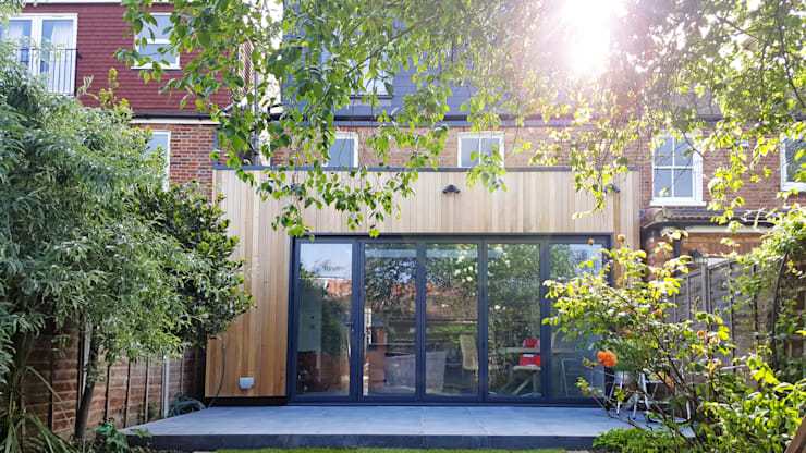 East Sheen Home: minimalistic Garden by PAD ARCHITECTS