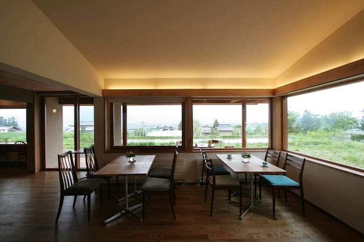 cafe 風の色 の 藤松建築設計室