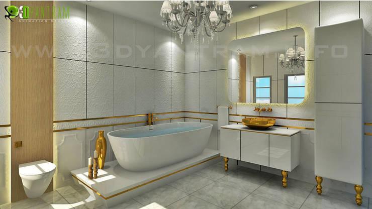 حمام تنفيذ Yantram Architectural Design Studio