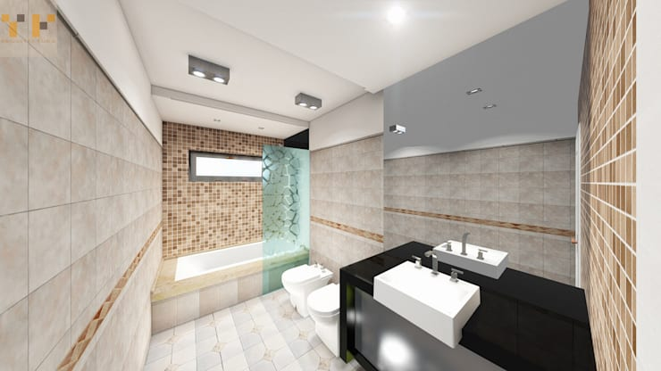 Bathroom by T.F | ARQuitectura y DIseño