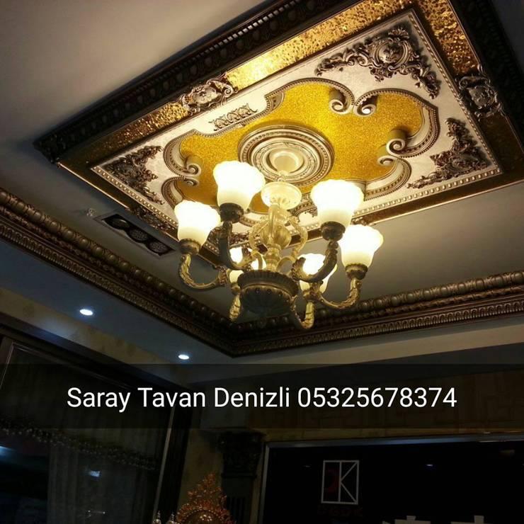SARAY TAVAN DENİZLİ 05325678374 – saray tavan:  tarz , Klasik Ahşap-Plastik Kompozit