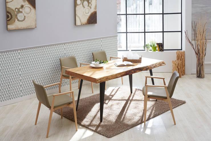 Rough-U 4.0 Natural+KhakiGray 4.0 Table Set: Mobel-Carpenter 모벨카펜터의 현대 ,모던 우드 우드 그레인