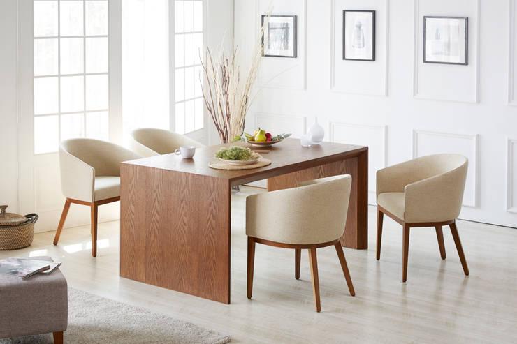 Paco Ash + Locke Classic 4.0 Dining Table Set: Mobel-Carpenter 모벨카펜터의 클래식 ,클래식 우드 우드 그레인
