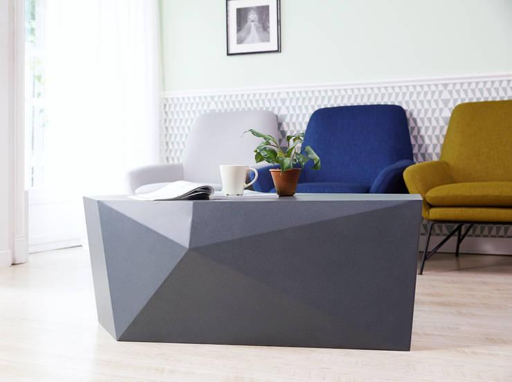Dige Gray SofaTable: MöBEL-CARPENTER (모벨카펜터)의  거실