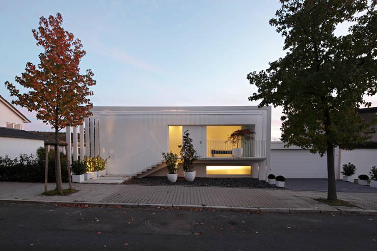 Projekty,  Domy zaprojektowane przez LABOR WELTENBAU ARCHITEKTUR