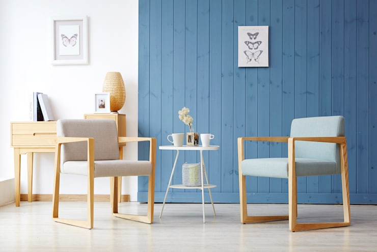 Lenny1.0 Design Chair: Mobel-Carpenter 모벨카펜터의  사무실 공간 & 가게