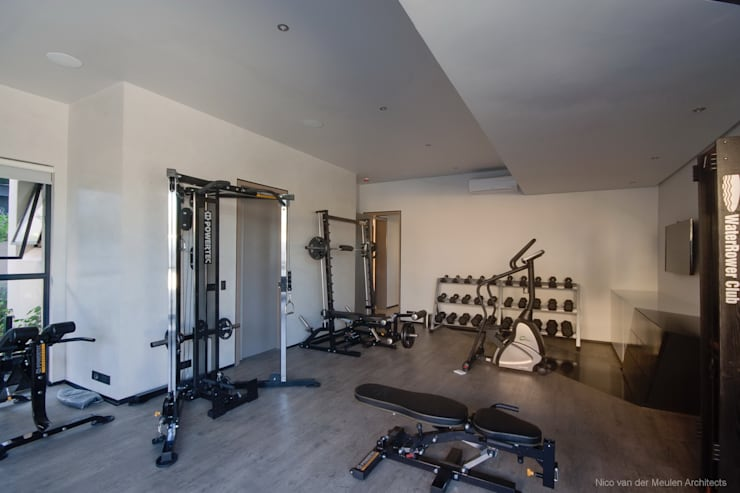 modern Gym by Nico Van Der Meulen Architects