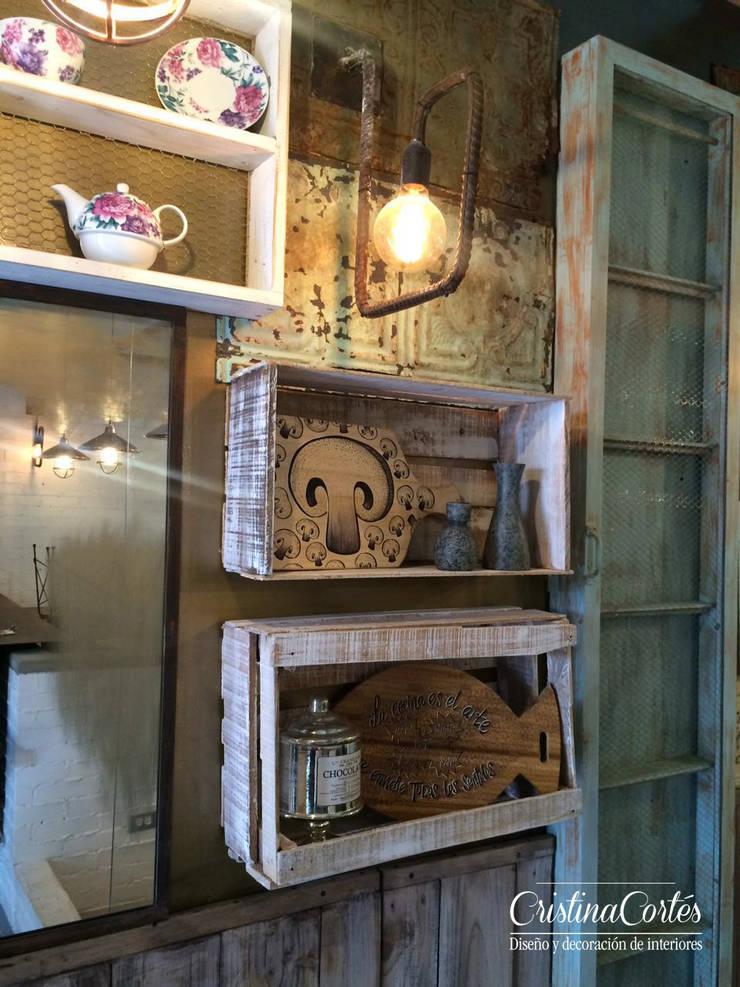 Acceso: Locales gastronómicos de estilo  por Cristina Cortés Diseño y Decoración