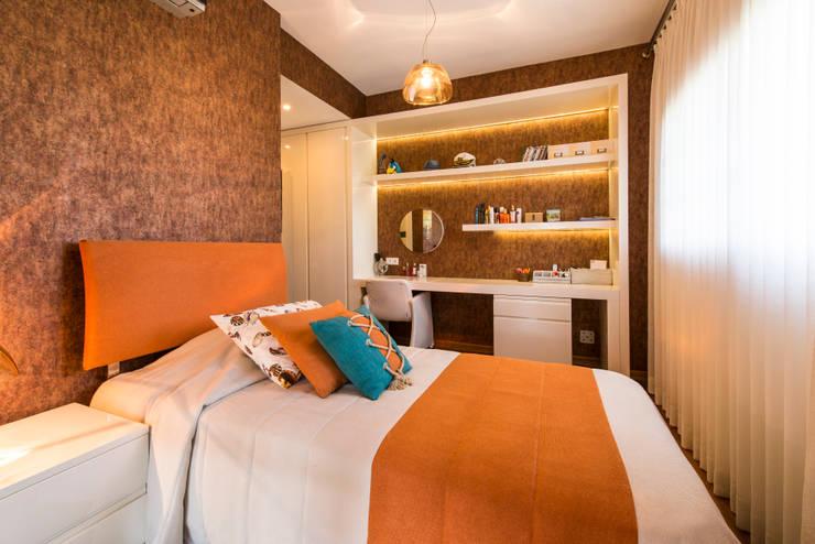 Mimode Mimarlık/Architecture – ÇEŞME VİLLA H.B.:  tarz Yatak Odası