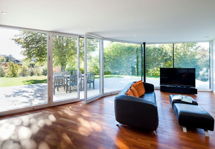 Modern Living Room by WSM ARCHITEKTEN Modern