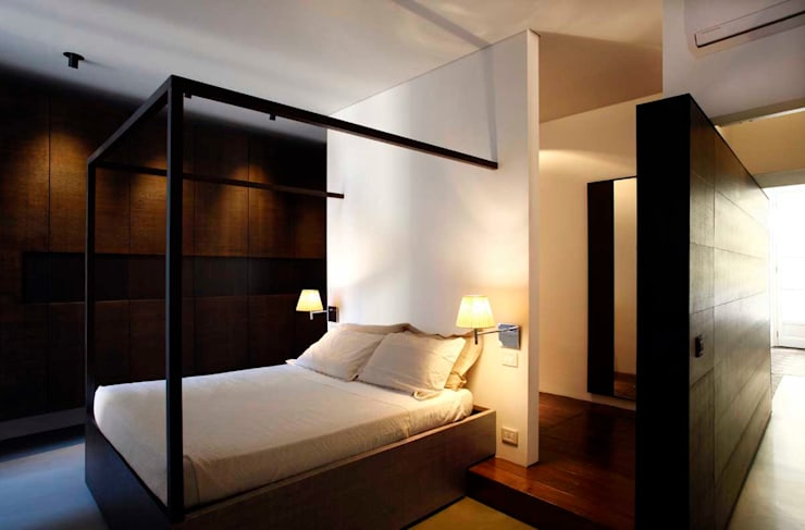BASILICA: Camera da letto in stile  di Studio Fabio Fantolino