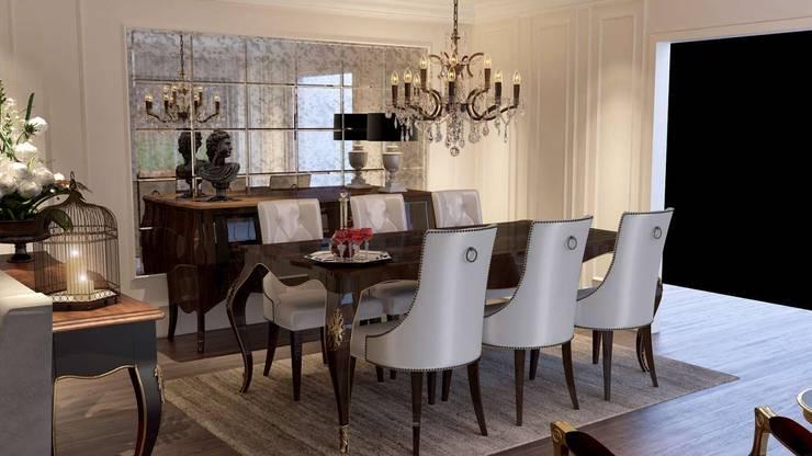 VERO CONCEPT MİMARLIK – Karadavut Villa:  tarz Yemek Odası