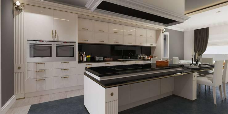 VERO CONCEPT MİMARLIK – Karadavut Villa:  tarz Mutfak