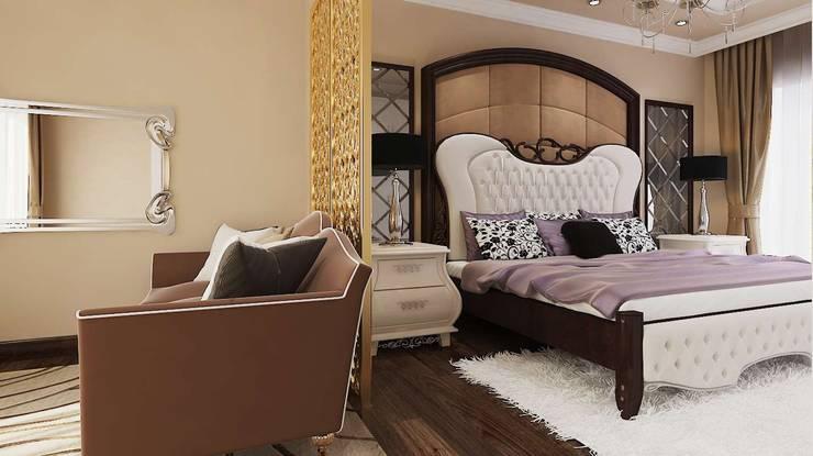 VERO CONCEPT MİMARLIK – Karadavut Villa:  tarz Yatak Odası