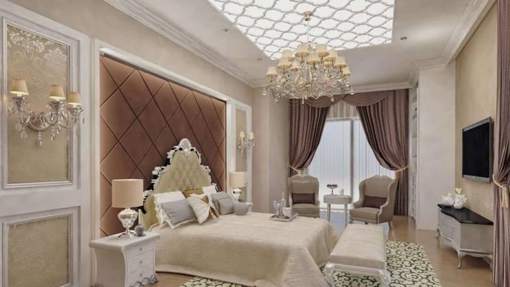 VERO CONCEPT MİMARLIK – Karadavut Villa: modern tarz Yatak Odası