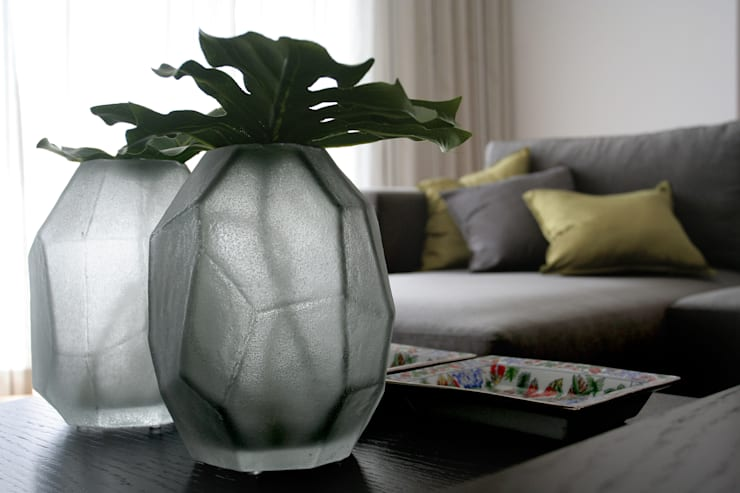Sala de Estar: Salas de estar  por Amber Road - Design + Contract