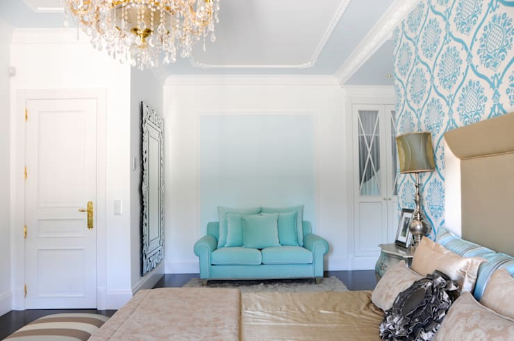 Suite 1: Quartos  por Amber Road - Design + Contract