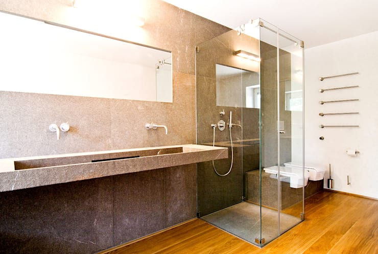country Bathroom by WSM ARCHITEKTEN