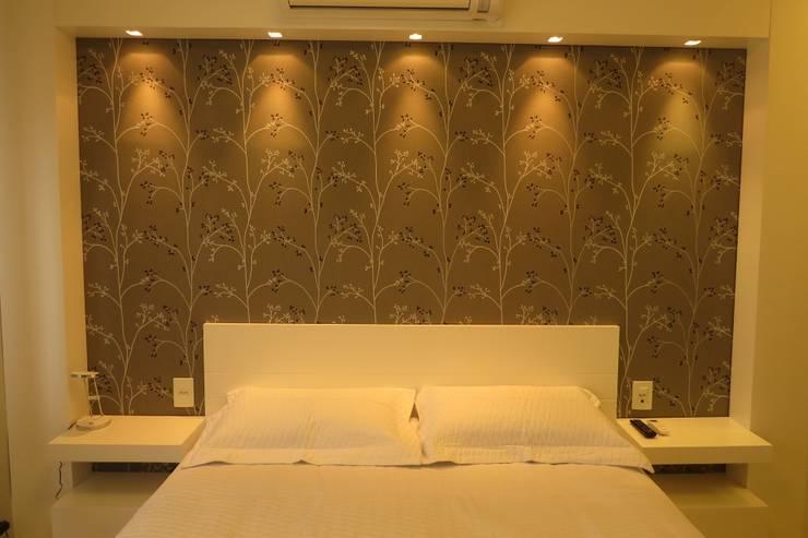 modern Bedroom by Paula Oliveira Szabo Arquitetura