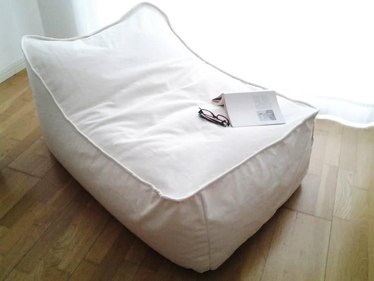 puff Chaise: Jardim  por Textilpuff