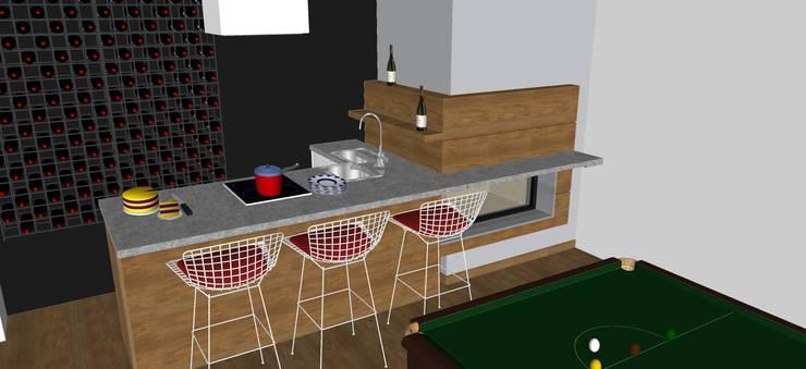 Cocinas de estilo  por T_C_Interior_Design___, Moderno