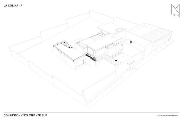 La Colina 17:  de estilo  por Estudio Manuel Peredo