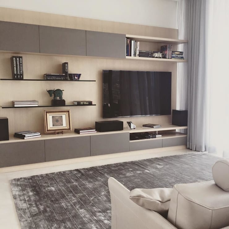 Living room by FLAM RUGS