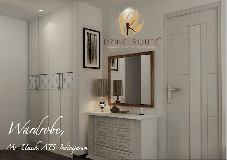 Residential Images: modern Dressing room by Dzine Route