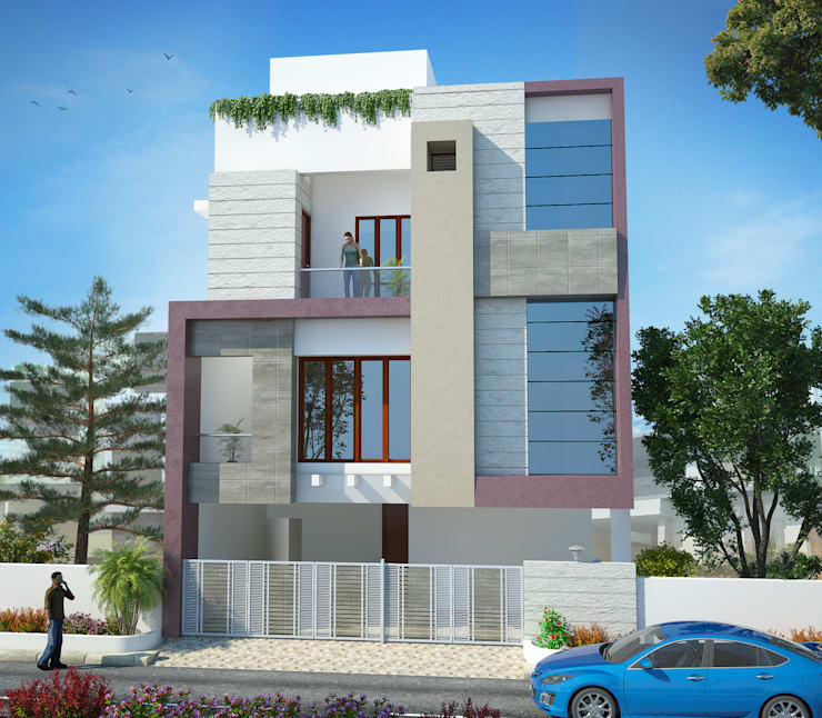 independent villa:  Houses by anss crafters,Classic