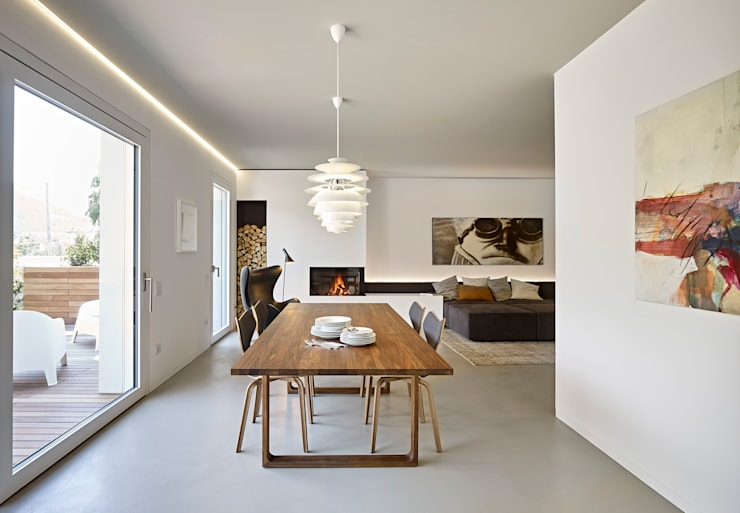Dining room by Burnazzi  Feltrin  Architects