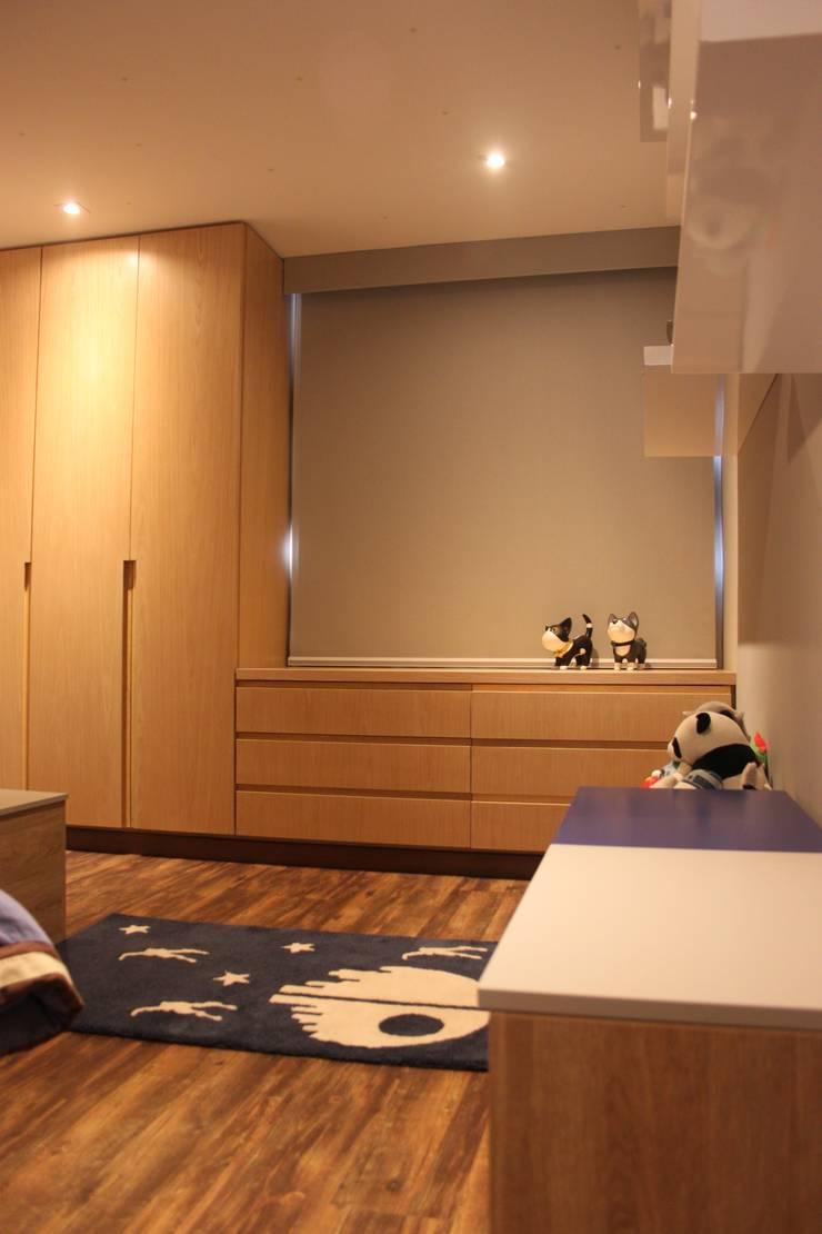 Habitacion para niños pequeños: Recámaras infantiles de estilo  por Home Reface - Diseño Interior CDMX